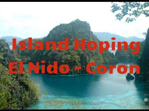 Island Hopping  El Nido, Palawan to Coron Island Philippines By Boat