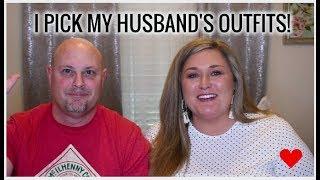 I PICK MY HUSBAND'S OUTFITS!   Taren Denise