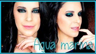 Tutorial maquillaje ahumado Agua Marina | Silvia Quiros Makeup