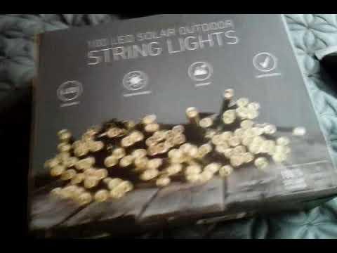 Sharper Image Solar Led String Lights