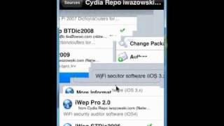 how To Install iWep pro 2.1.1 On Your Iphone/Ipod touch For Wifi Hack
