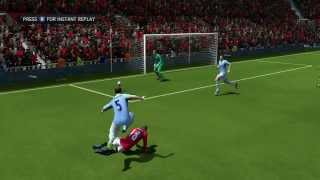 FIFA 14 - Manchester United Vs Manchester City (Xbox 360, PS3, PC) Gameplay
