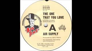 air supply the one that you love billboard top 100 of 1981