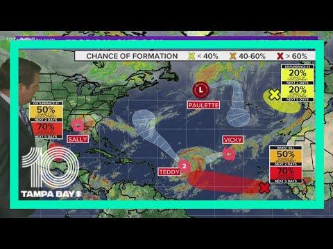 4 Organized Systems, 3 Tropical Disturbances: Atlantic Hurricane Season Stays Busy