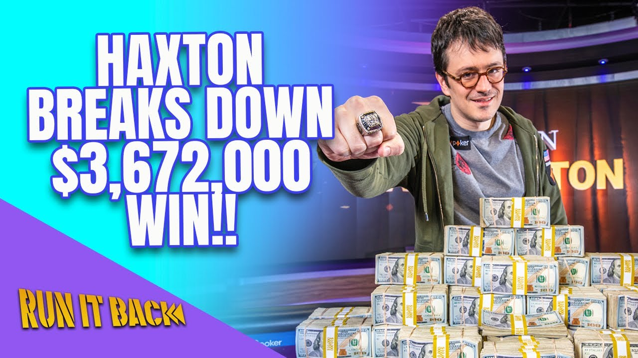 Run it Back with Isaac Haxton   Super High Roller Bowl V