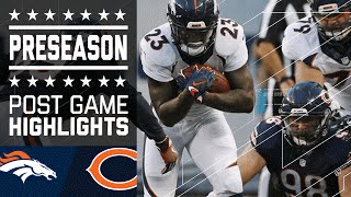 Broncos vs. Bears | Game Highlights | NFL