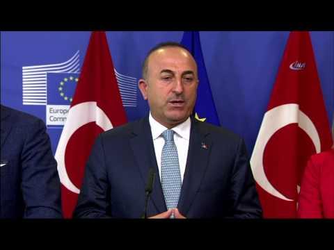 """Dışişleri Bakanı Mevlüt Çavuşoğlu: """"AB İle İşbirliğimizi Güçlendirmeliyiz"""""""