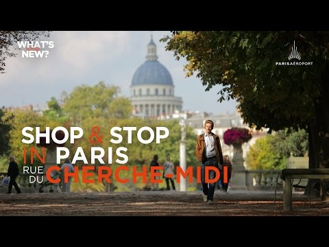 Paris Worldwide - Shop & Stop in Paris, rue du Cherche-Midi
