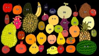 Fruit Song - The Kids' Picture Show (Fun & Educational Learning Video) thumbnail