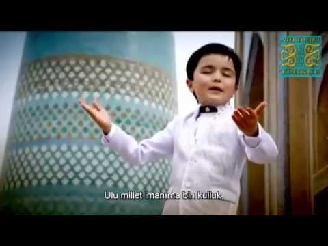 Özbek Balası Muhteşem Söylüyor - Bin Kulluk (Özbekistan - ALTYAZILI) - Özbekçe Şarkı
