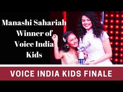 Voice India Kids Season 2 Winner Manashi Sahariah Grand Finale 2018