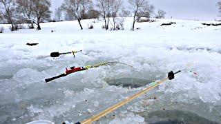 Секреты рыбалки в конце зимы и марте со льда!! На что клюет и как себя ведет рыба в глухозимье?