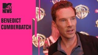 Benedict Cumberbatch On 'Mowgli' & Andy Serkis | CinemaCon | MTV News