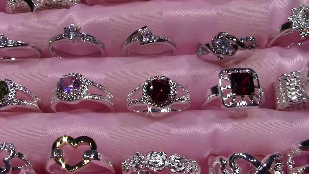 a459d36931c7 Anillos de plata con piedras preciosas y semipreciosas - YouTube