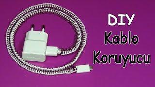 Şarj,Kulaklık,Kablo Süsleme | Diy | Cable Protector-Ornament