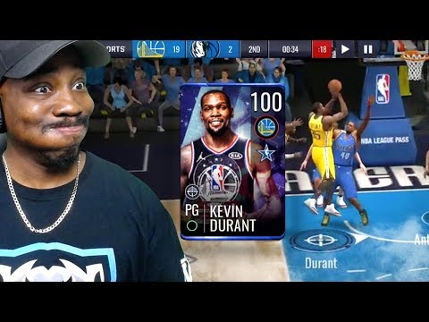 100 OVR ALL-STAR DURANT IS A HACK! NBA Live Mobile 19 Season 3 Ep. 51
