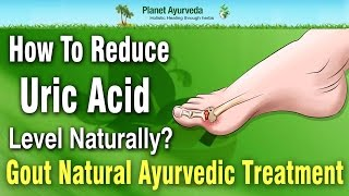 How To Reduce Uric Acid Level Naturally ? Gout Natural Ayurvedic Treatment