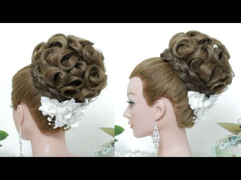 Prom Wedding Updo Tutorial.  Bridal Hairstyles For Long Hair thumbnail