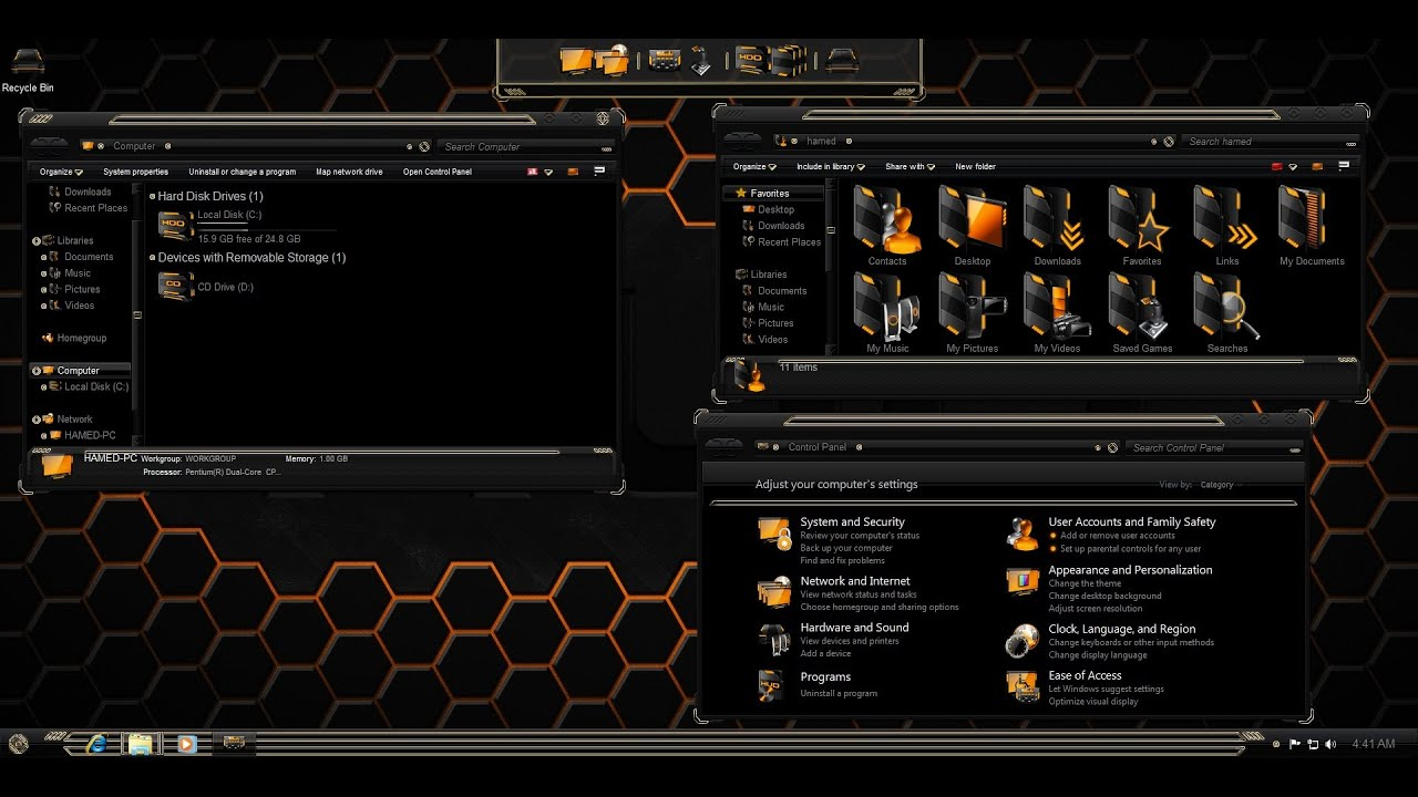 Windows Icon Black