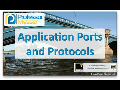 Application Ports and Protocols - CompTIA Network+ N10-006 - 5.10