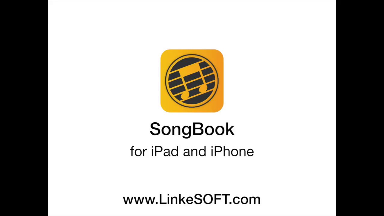 SongBook for iPad or iPhone