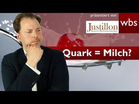 Ist Quark Milch oder doch alles Käse? | Rechtsanwalt Christian Solmecke