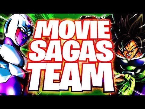 SAGAS FROM THE MOVIES TEAM IS LITERALLY INSANE! Dragon Ball Legends DB