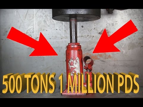Youtubes Strongest  Hydraulic Press