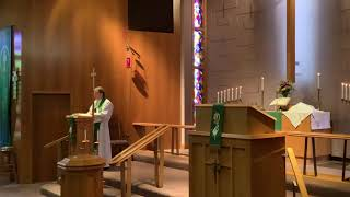 21st Sunday after Pentecost, Good Shepherd Lutheran Church, LC-MS, Two Rivers, WI, Rev William Kilps