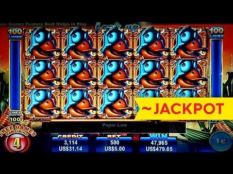 ~JACKPOT! Loose Goose Slot - INCREDIBLE Bonus!
