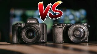 Sony a6000 vs Canon M50! (2019 Review)