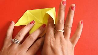 How To Make An Origami Paper House