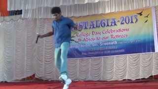 Newman College Day-idea Star singer fame Sreenath