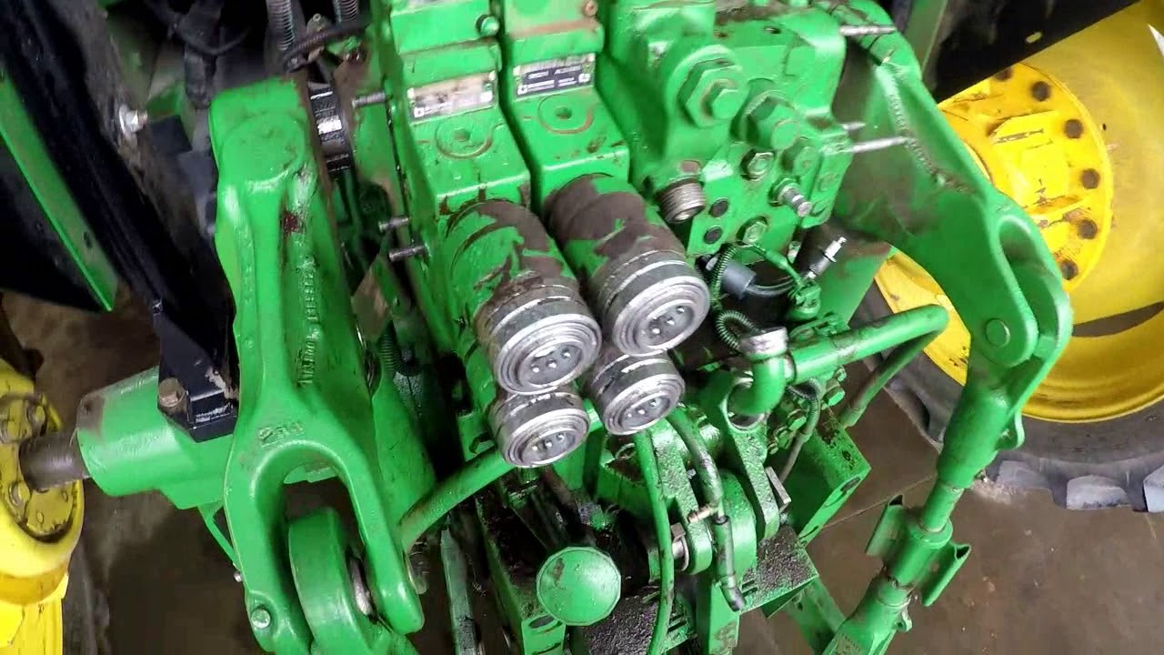 John Deere 6125m hydraulic problems  YouTube