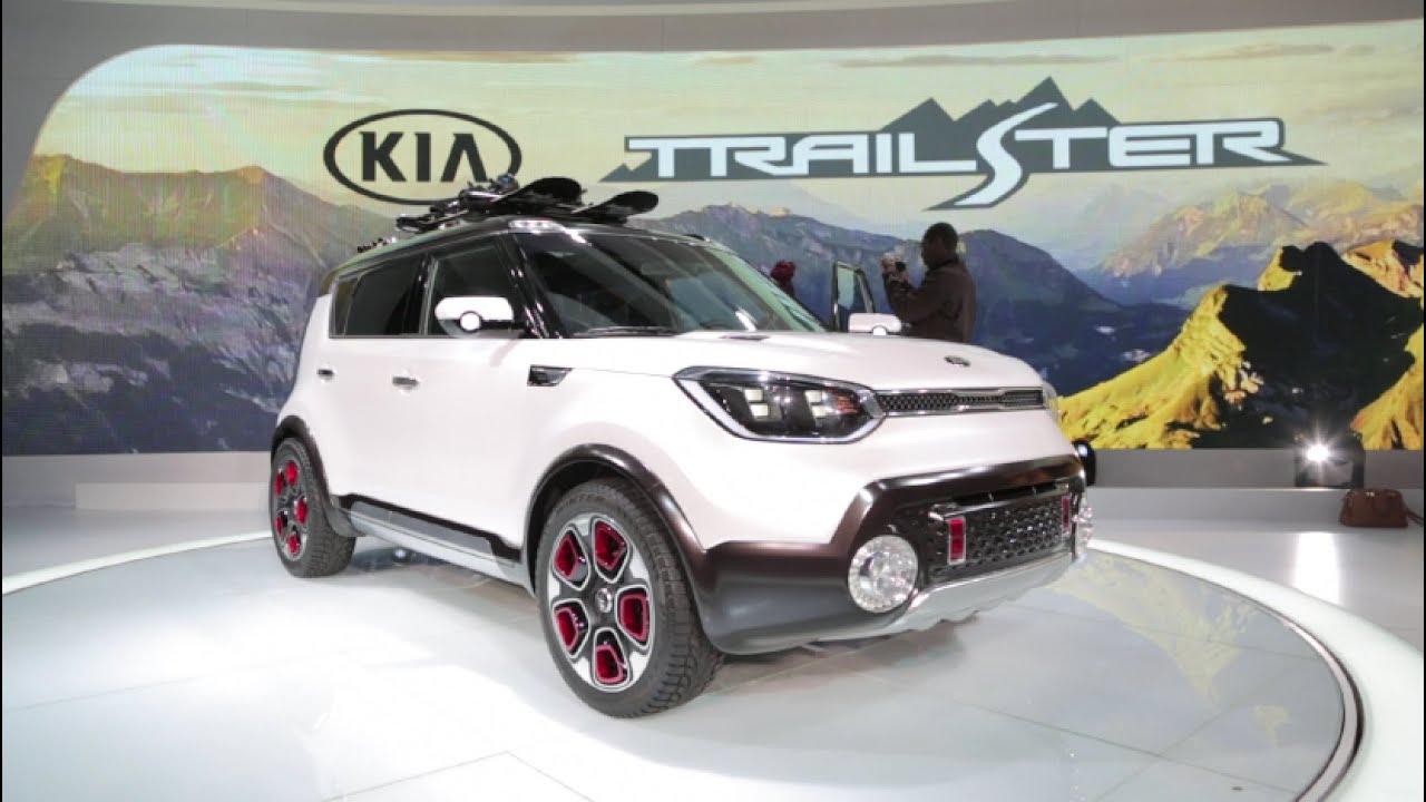kia trail 39 ster concept 2015 chicago auto show youtube. Black Bedroom Furniture Sets. Home Design Ideas