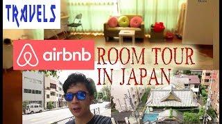 Gambar cover Airbnb Room Tour in Shinjuku, Japan  ᴴᴰ