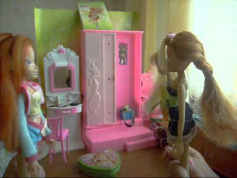 Куклы Барби WINX Винкс Злая Королева украла Крылья мультик с игрушками игры для девочек на русском