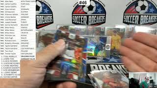 2020 Panini Select UEFA Euro Soccer 4 Box Mixer Pick your Team Break #46 (PART 2 OF 2 - RECAP)