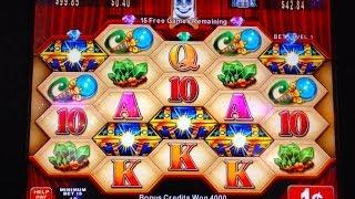 Konami Fairy Blossom slot machine - Nice Bonus Win, with Retrigger