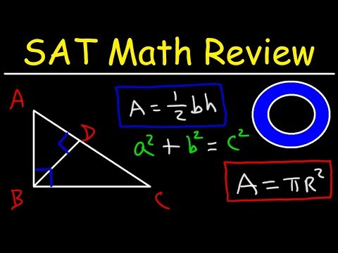 SAT Math Test Prep Online Crash Course Algebra & Geometry Study Guide Review, Functions,Youtube