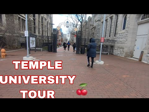 Walk Temple University Tour (MAIN CAMPUS ) W/ Narration