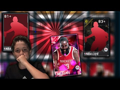 MASSIVE VARIETY PACK OPENING nba live mobile