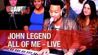 Magnifique live de John Legend - All of Me - C'Cauet sur NRJ
