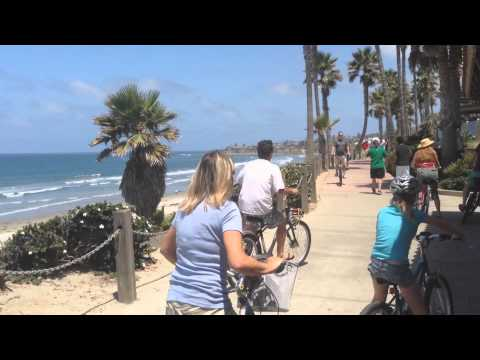 Biking Around Mission Bay in San Diego