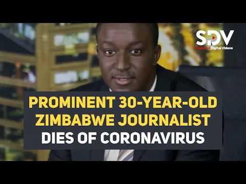 Prominent 30-year-old Zimbabwe journalist dies of coronavirus