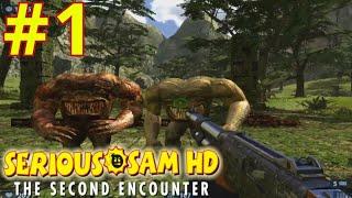 Прохождение игры Serious Sam HD: The Second Encounter #1➤Сьерра-Де-Чьяпас, Долина Ягуара / Видео