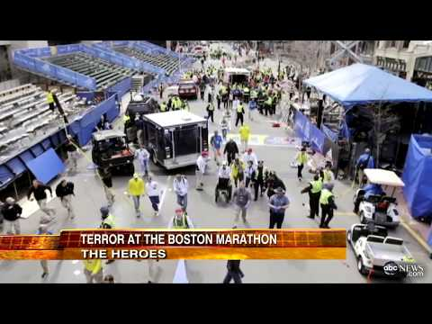 Boston Marathon Explosion Video, Pictures: Heroes Emerge from Boston Marathon Bombing