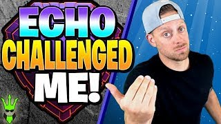 ECHO GAMING CHALLENGED ME TO A PUSH COMPETITION! - Clash of Clans