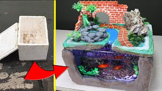 DIY Aquarium Waterfall Fountai…