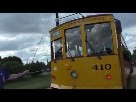 Little Rock Streetcar Barn and Blue Line Tour